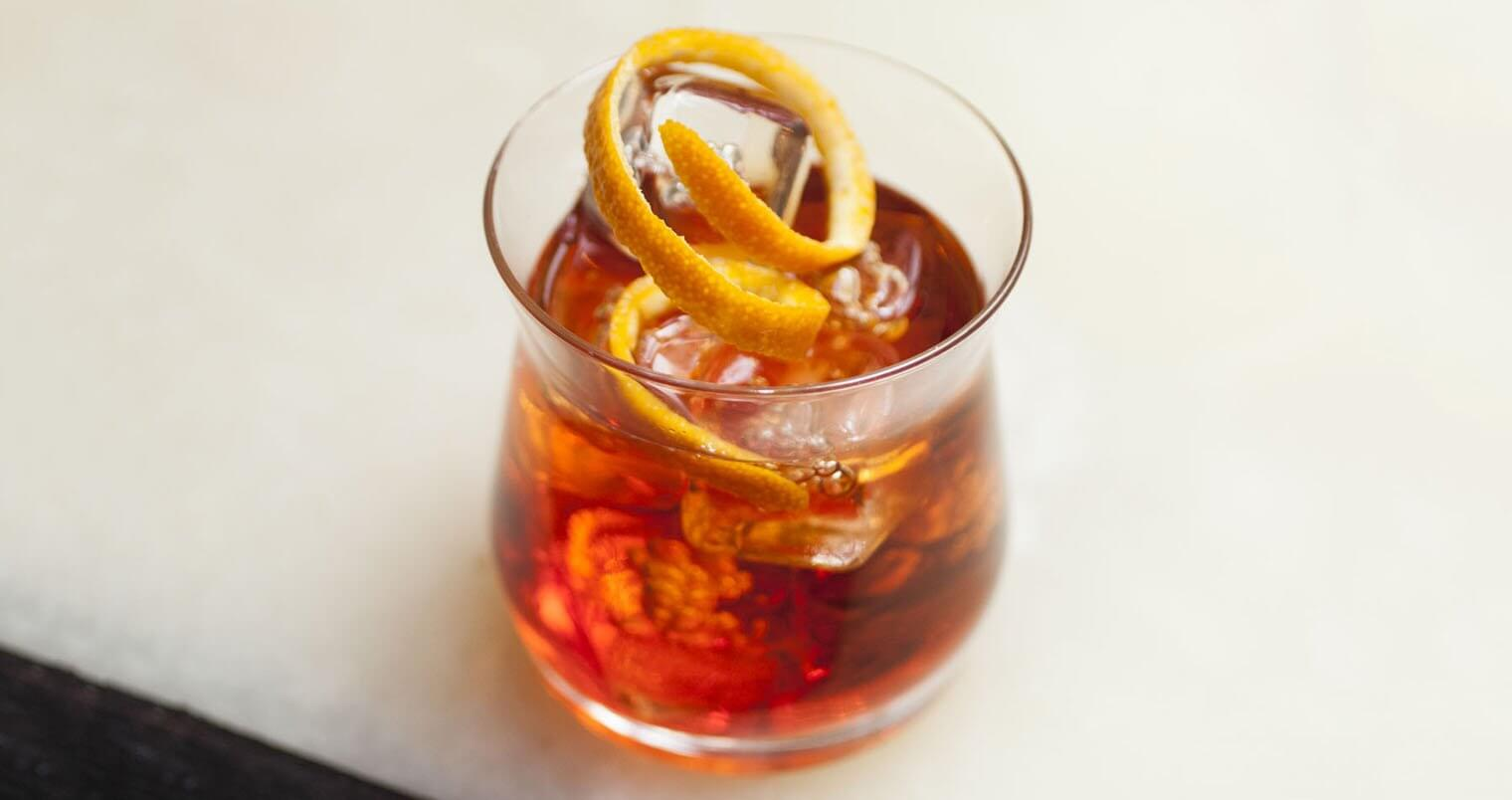 Chilled's Classic Negroni, featured image