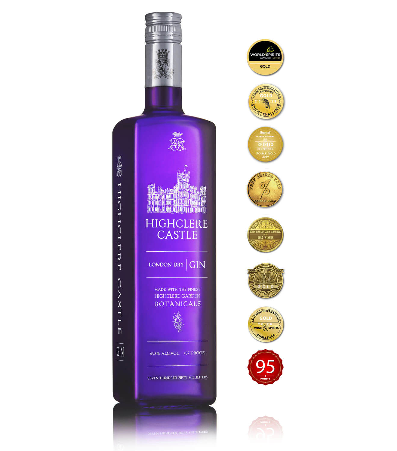 The Highclere Castle - London Dry Gin