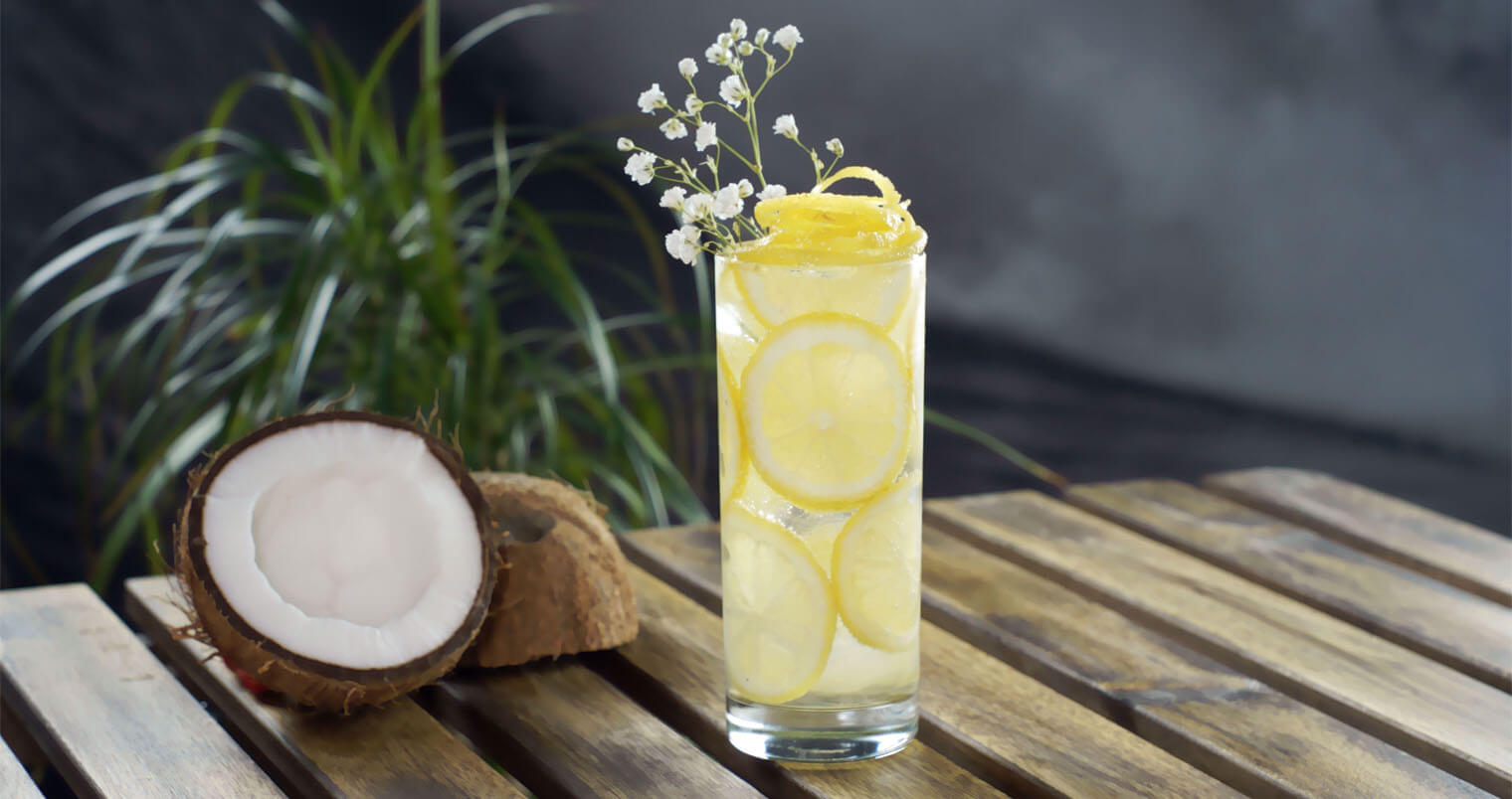 Coconut-Elderflower G&T