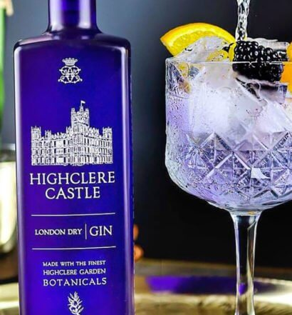 Highclere Castle Blackberry & Orange G&T