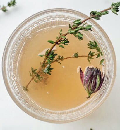 Lemon Thyme Syrup, featured image