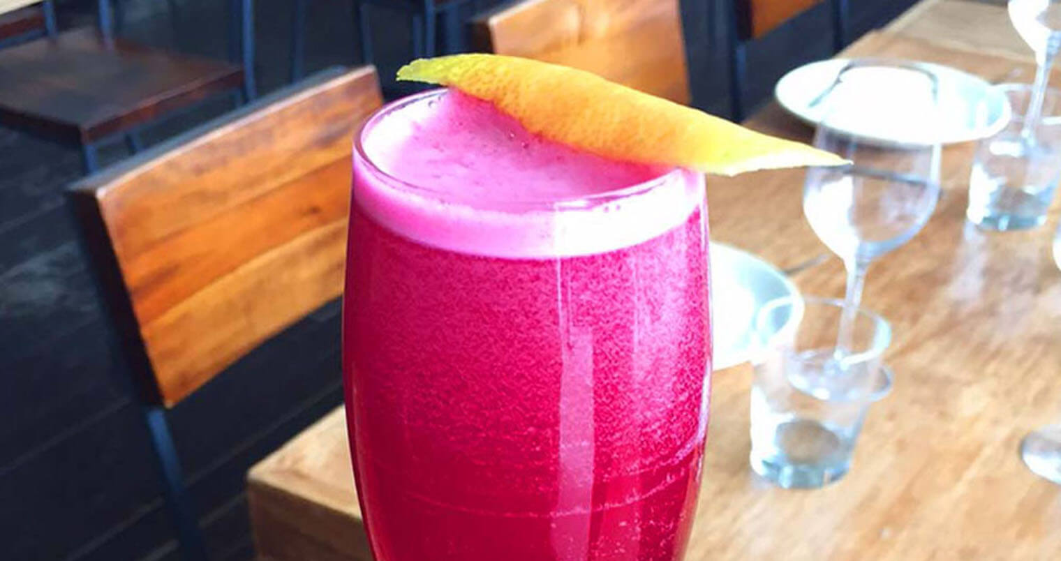 Beet Royale Cocktail, featured image