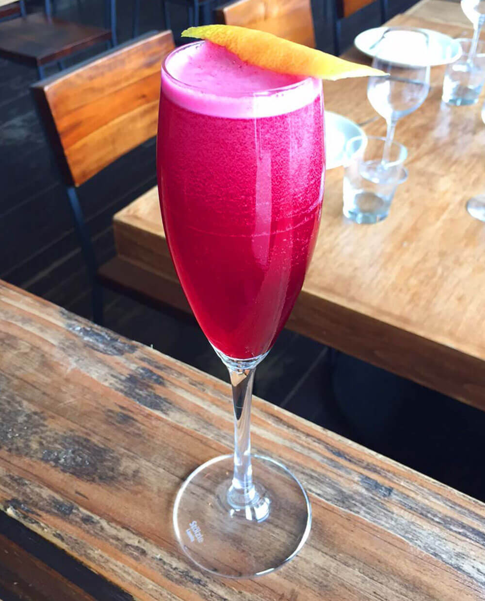 Beet Royale Cocktail