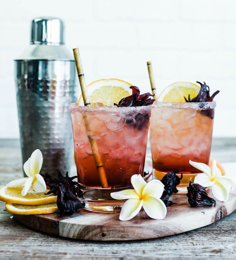 Spiced Hibiscus Cocktail