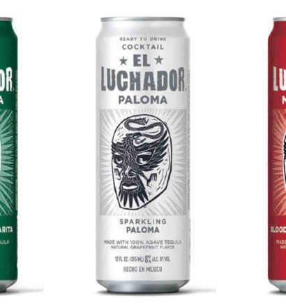 El Luchador RTD Varieties, cans on white, featured image