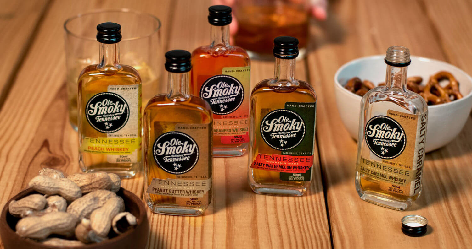 Ole Smoky Distillery Launches Mini Bottles, featured image