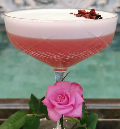 Rose Garden Cocktail, featured image