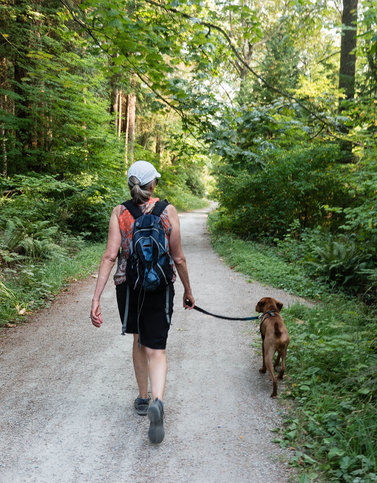 Spending time outdoors and active can help improve mental health