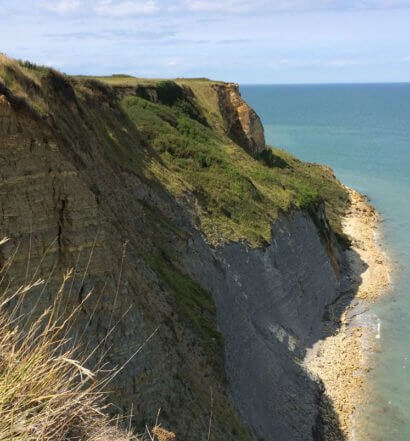 A Cliff along the coast of Normandy featured image