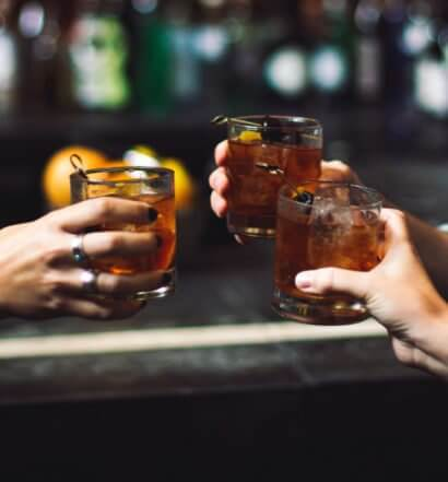 Friends having a cheers, featured image
