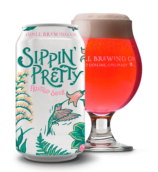 Odell Brewing – Sippin' Pretty Fruited Sour