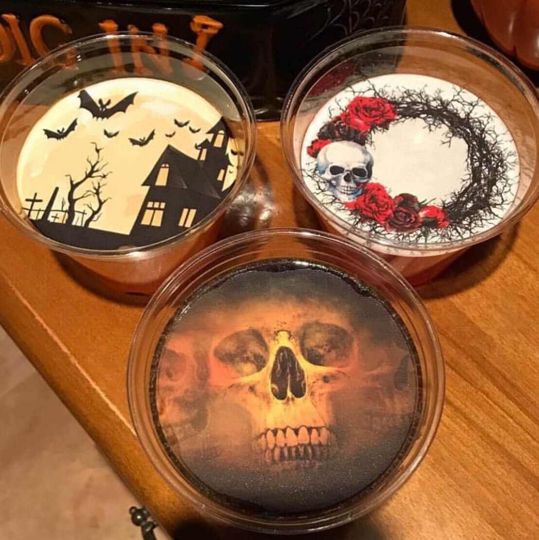 Snowy River Cocktails Halloween topper selection