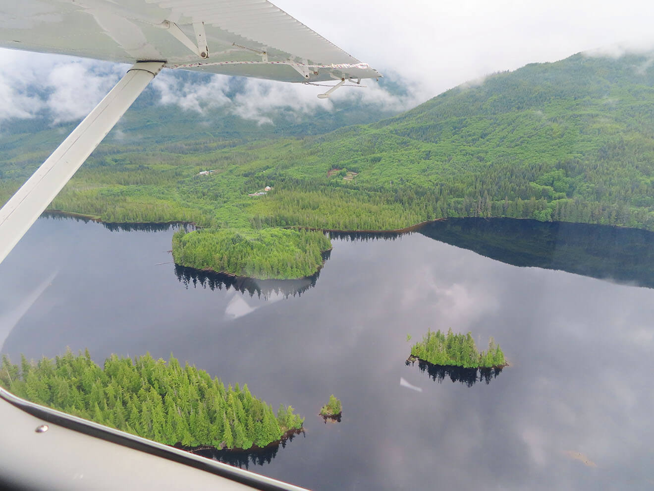 View from seaplane