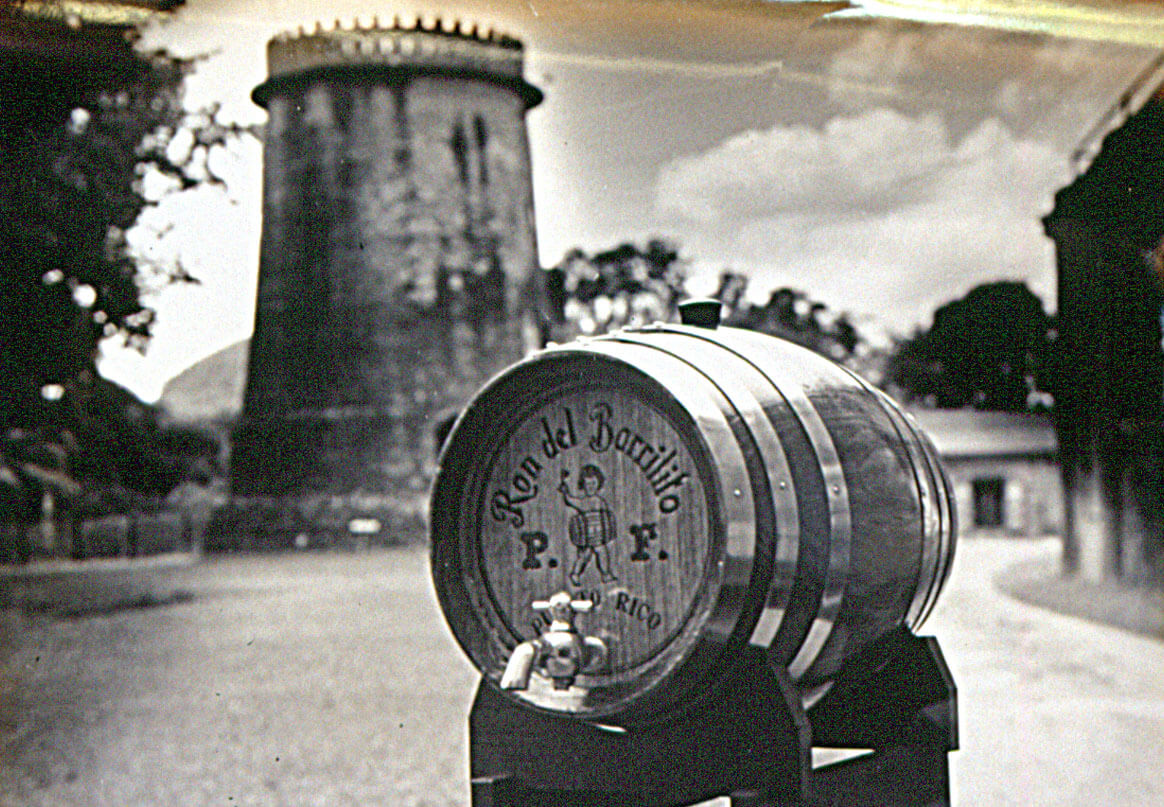 Vintage photo of the windmill