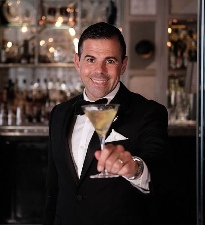 Ago Perrone, Director of Mixology at The Connaught Hotel