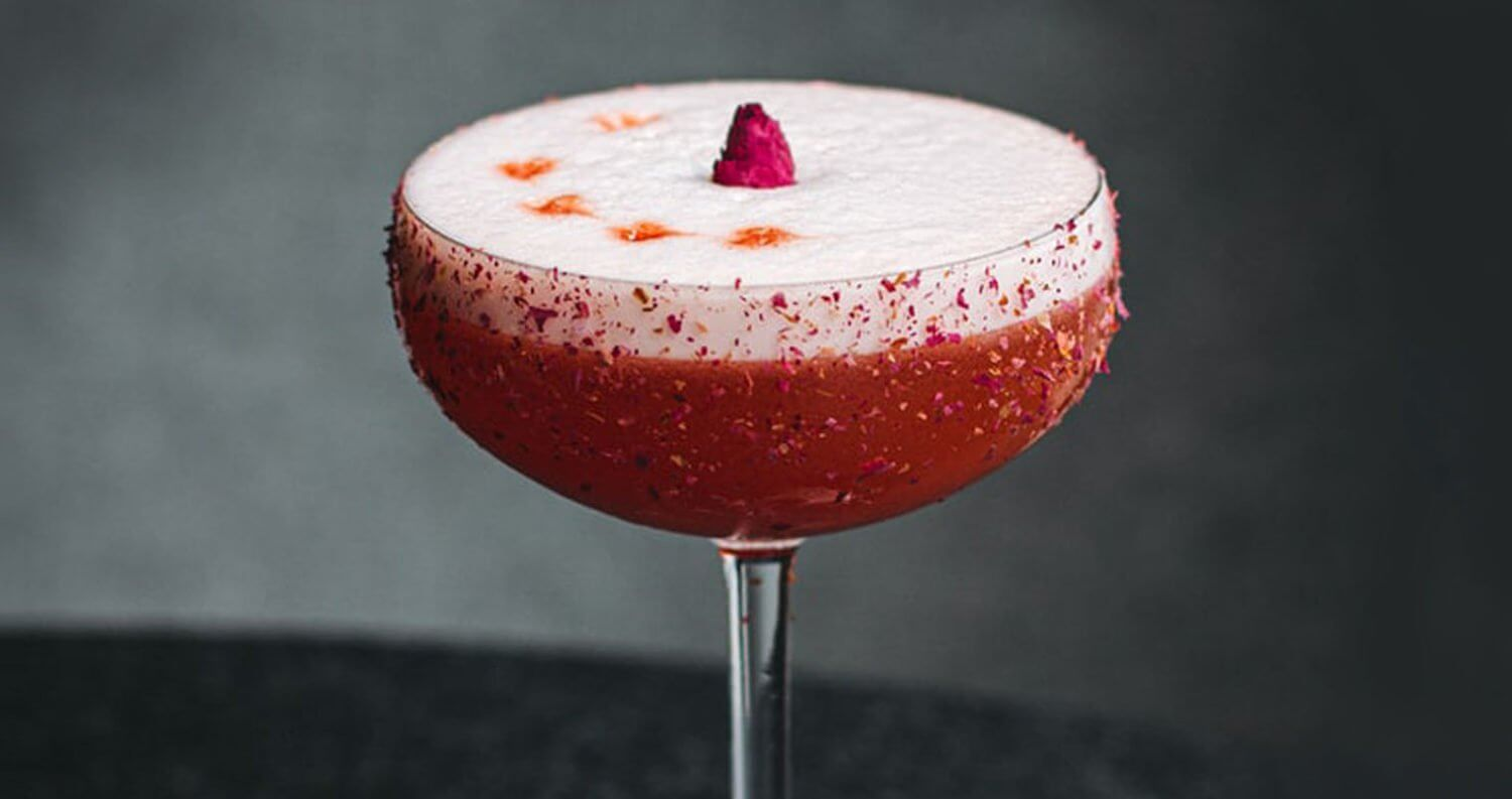 The Clover Club Cocktail, featured image
