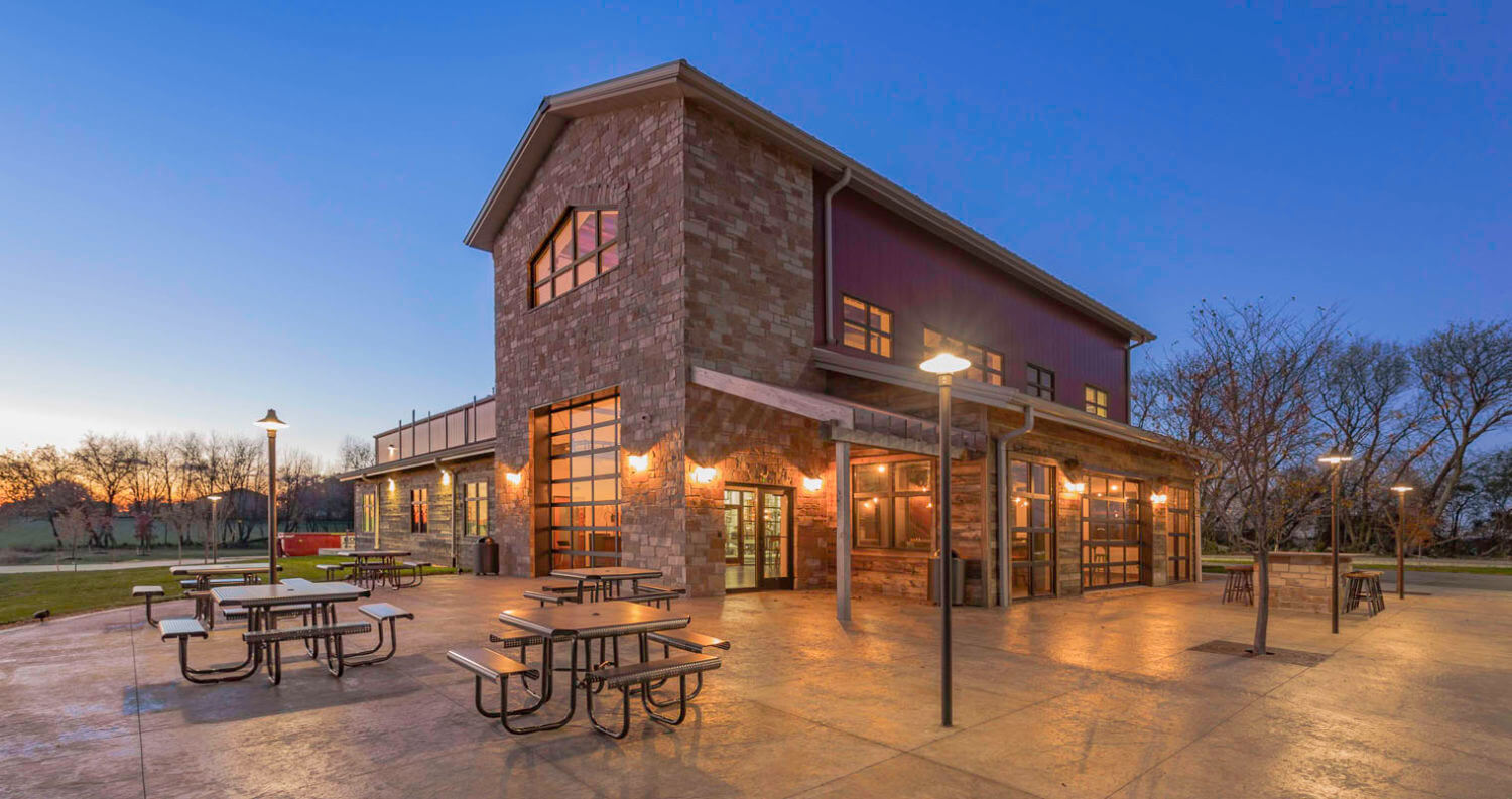 Dancing Goat Distillery, outside view, featured image