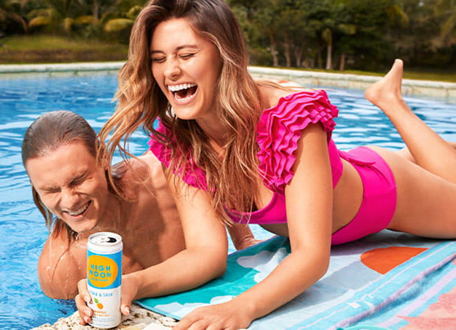 Pool with Pineapple