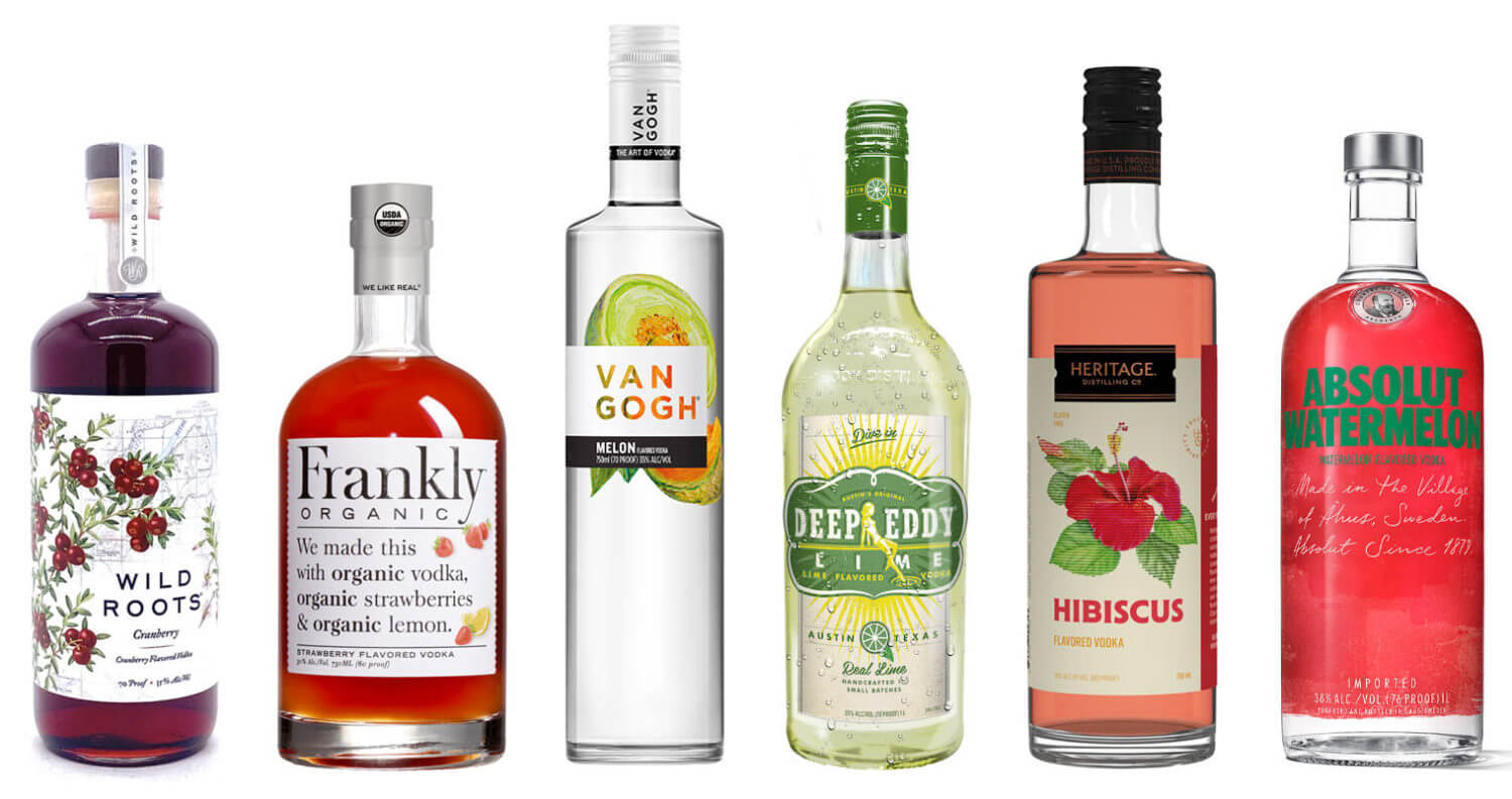 6 Flavored Vodkas for Summer , featured image
