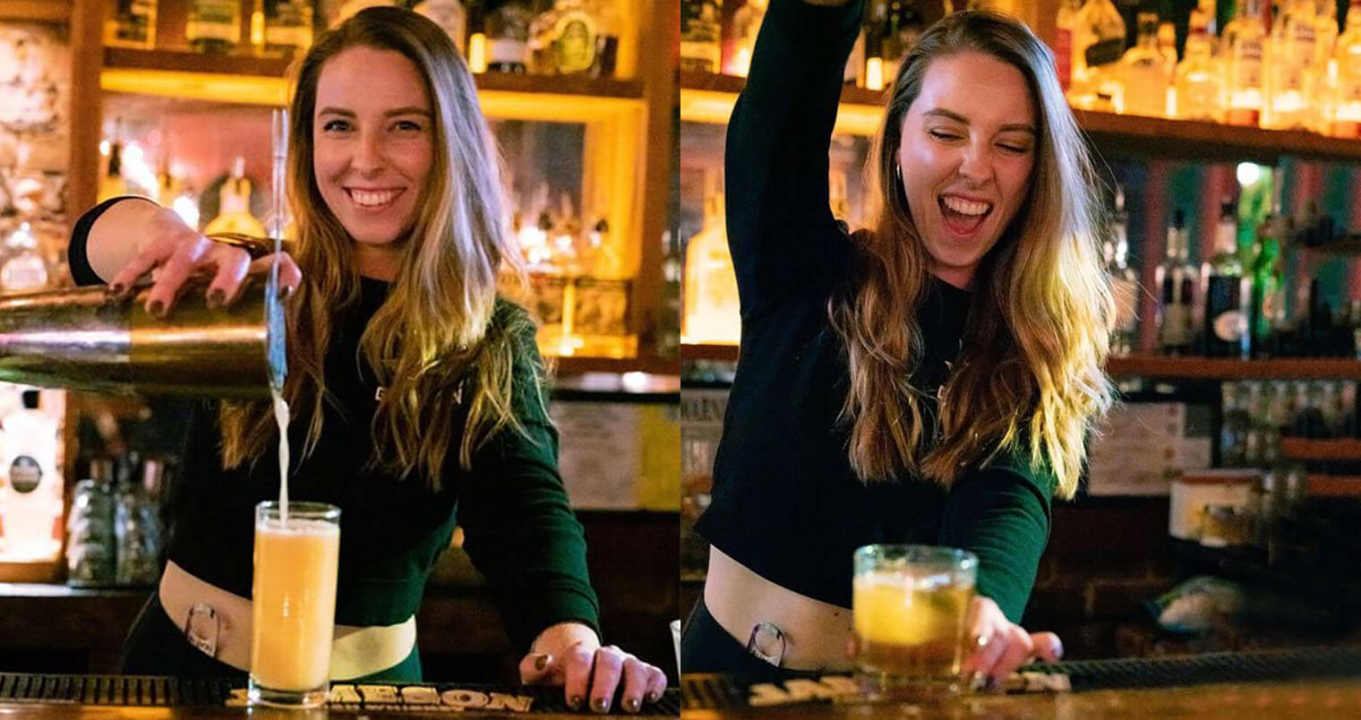 Bartender Heather Minnick feat, featured image
