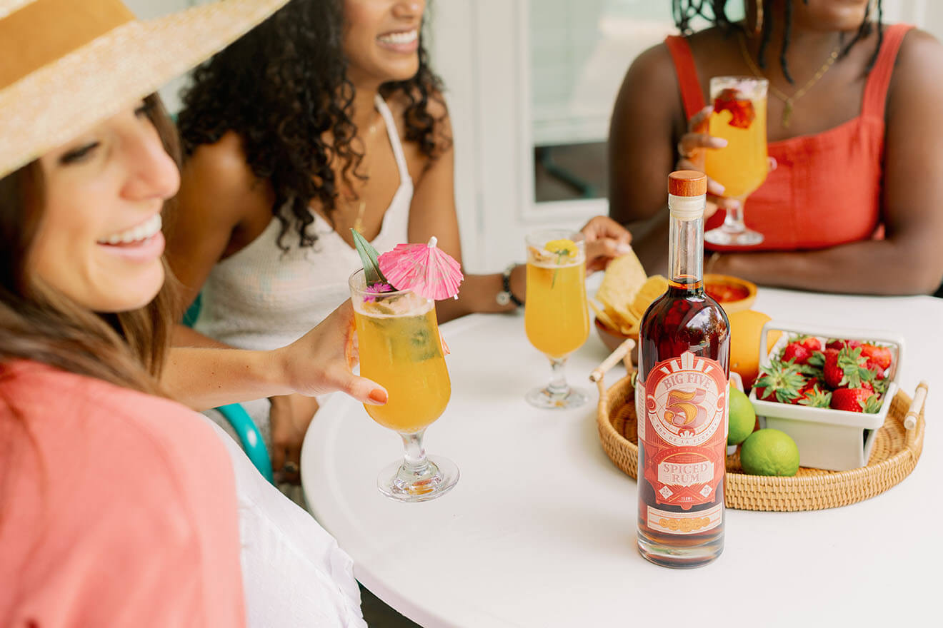 Big Five Spiced Rum Punch