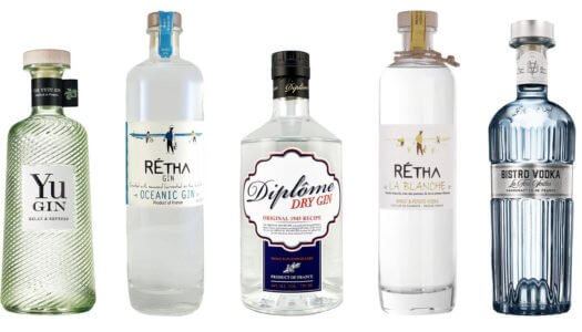 The 5 French Made Gins and Vodkas You Need Behind Your Bar