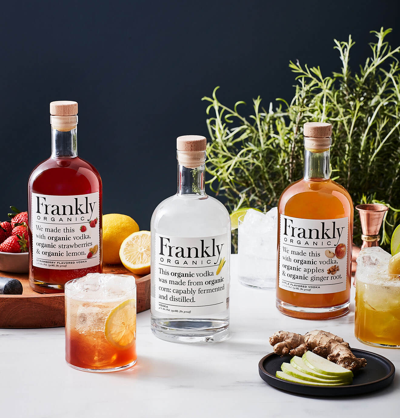Frankly Organic Top 3 Varieties with Frankly Fizz