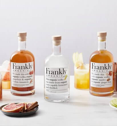 Frankly Organic Vodkas with Frankly Fizz, featured image