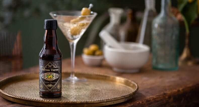 Olive Bitters - Dirty Martini, featured image