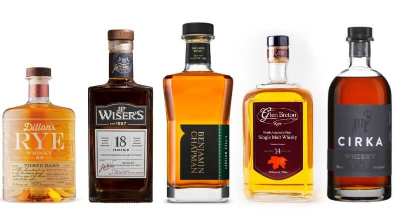 Canadian Whiskies To Try, featured image